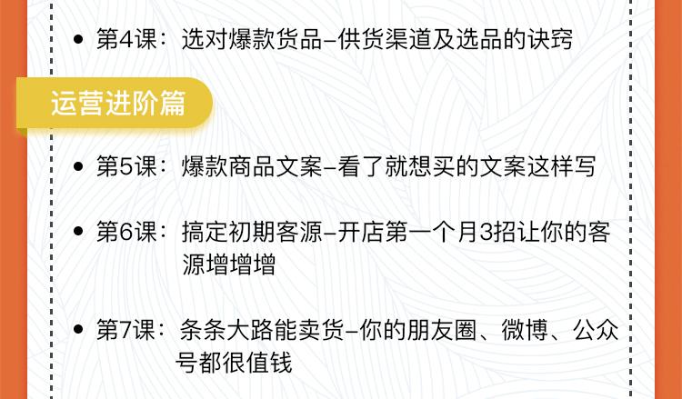 """2课教你0基础兼职开网店,月赚十万零花钱"""""""